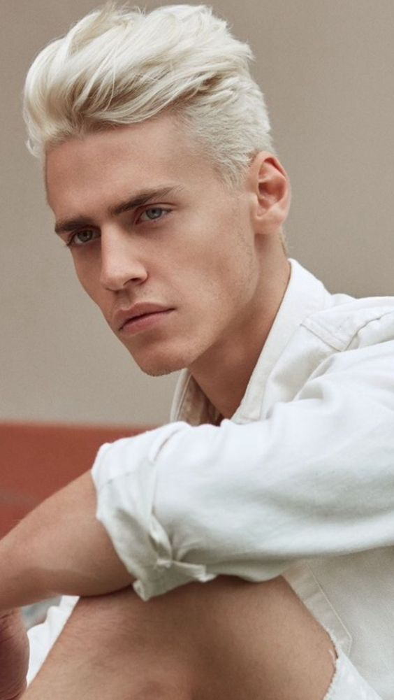 Shade Holden Men Blonde Hair Dyed Hair Men Mens Hair Colour