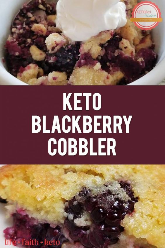 Blackberry Cobbler (Keto and Low-Carb)