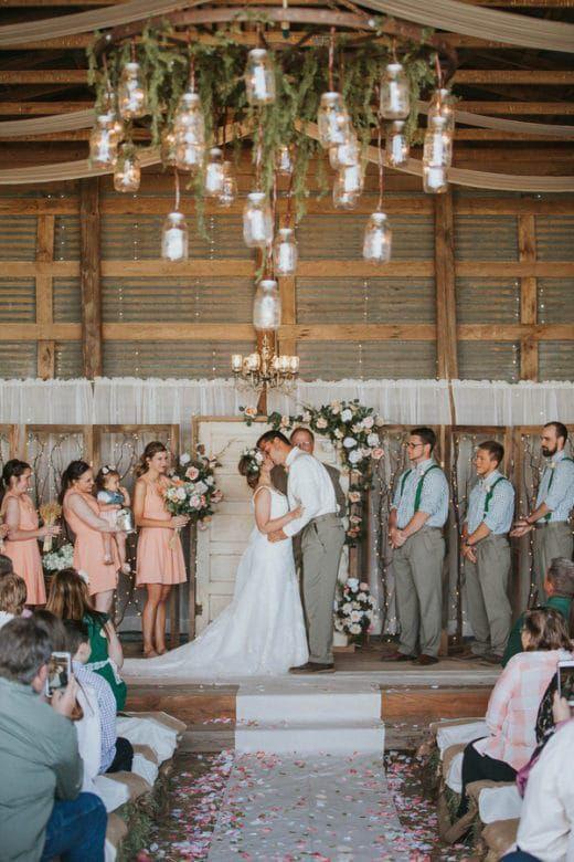 Diy Country Farm Wedding Farm Wedding Anemone Wedding