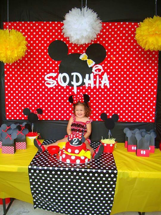 minnie mouse birthday red red minnie mouse party ideas minnie mouse ...