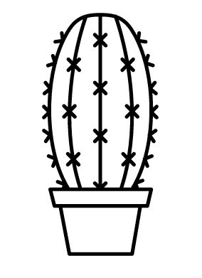 cactus icon #仙人掌 #cacti #cactus #logo #design #graphic #icon #line