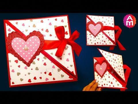 How To Make Diy Valentine Cards Handmade Love Card Making