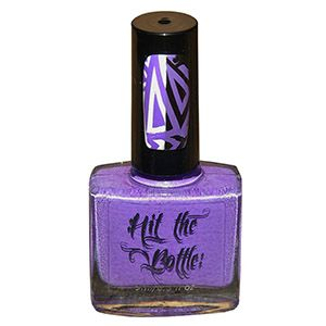 "Hit the Bottle ""High Voltage Violet"" Neon Stamping Polish"