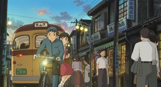 Umi and Shun in From Up on Poppy Hill (2011)