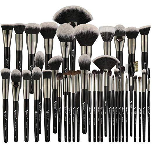 Beili Pro Signature 40 Pcs Makeup Brushes Set Makeup Natural Makeup Brush Set Makeup Brush Set Professional Professional Makeup Brushes