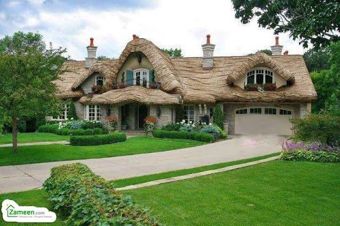 How many of you dream of such houses?