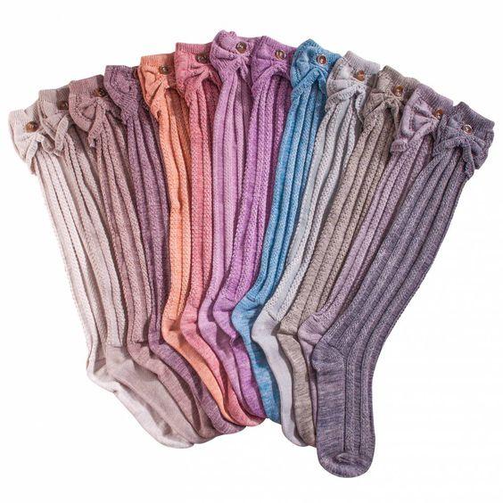 Noelle Scalloped Heather Boot Sock