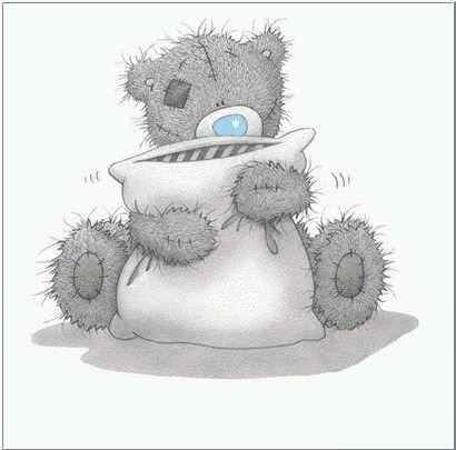Tatty Teddy Bear: