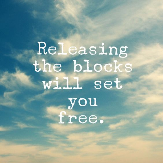 Releasing the Blocks Will Set You Free http://www.afreespiritlife.com/2016/02/13/releasing-the-blocks-will-set-us-free/