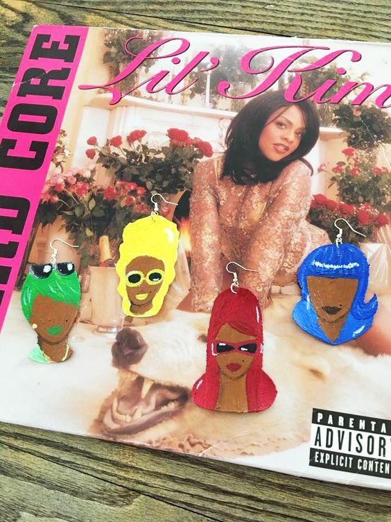 """Crush On You"" #LilKim earrings   #kltart  #crushonyou #notoriouskim #90s #90shiphop #femalerapper #femaleemcee #missyelliott #hardcore"