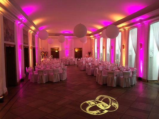 Dj Landhaus Hubertus Berlin Licht Wallwasher Hochzeit Beleuchtung Hochzeit Dj