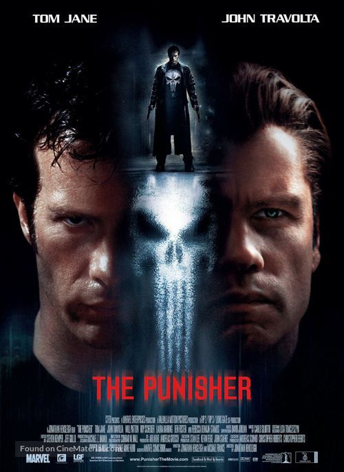 The Punisher 2004 Movie Poster The Punisher Movie Punisher 2004 The Punisher Tv Show