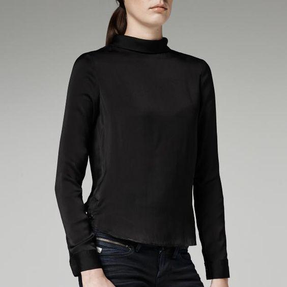 G-Star RAW-Rear Scarf Shirt-Women-Shirts