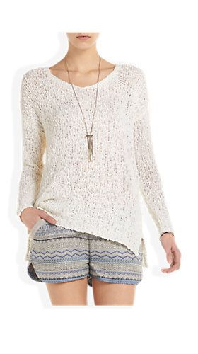 Gehaakte Pullover Offwhitewit - Costes Fashion