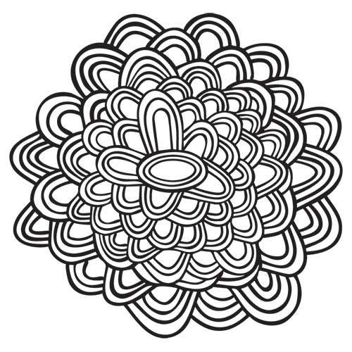 Desenhos Abstratos E Geometricos Para Colorir Facil Com Imagens