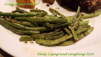 Emily Living and Laughing : Crispy Green Beans
