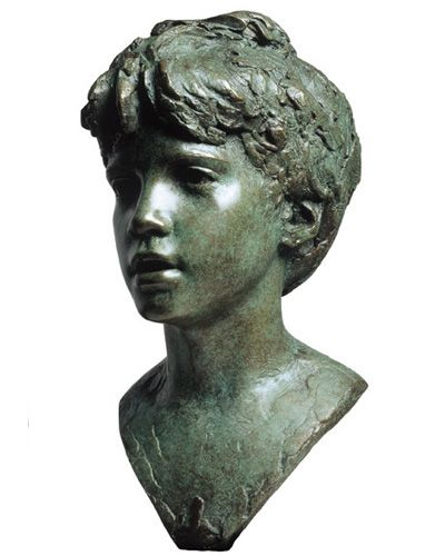 Mark Richards ~ Julian Life size. Bronze 1997