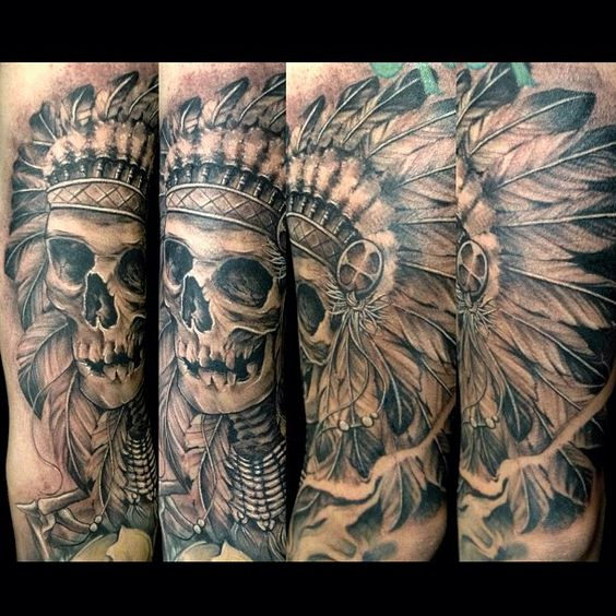 I did this piece last friday. Was difficult to get the right angle #skull #penacho #tatuajesdereyes