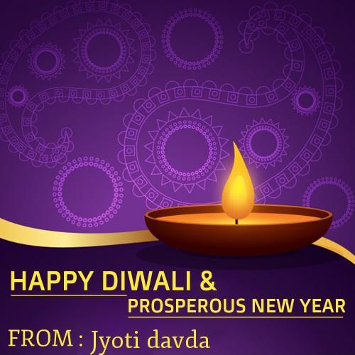 Happy New Year Diwali 25