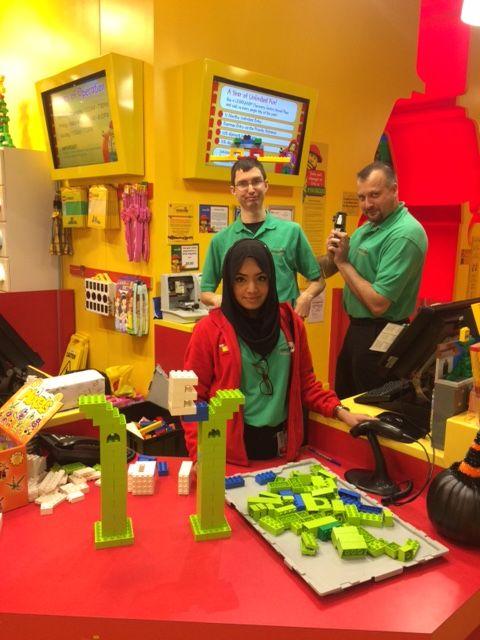 Nicholas Elliott, Albert Duic, and Salma Khan @ LEGOLAND Discovery Center Toronto #LEGO #TeamMerlin #WeLoveWhatWeDo
