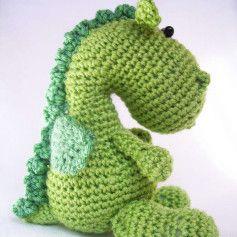 Free Dragon Amigurumi Crochet Pattern