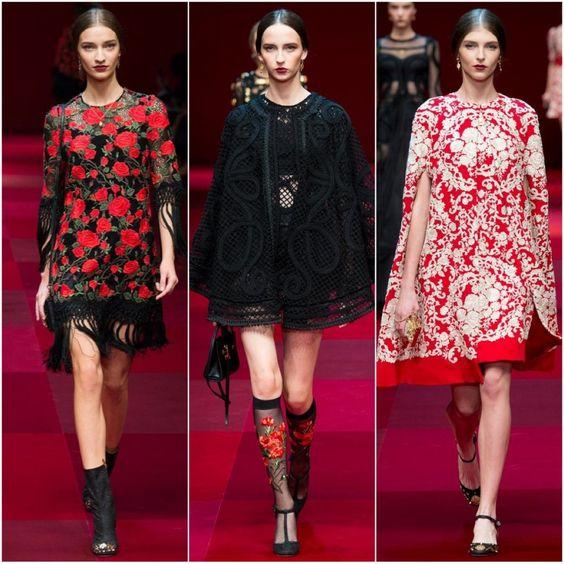 O que vem aí…MFW 2014 / Dolce & Gabbana