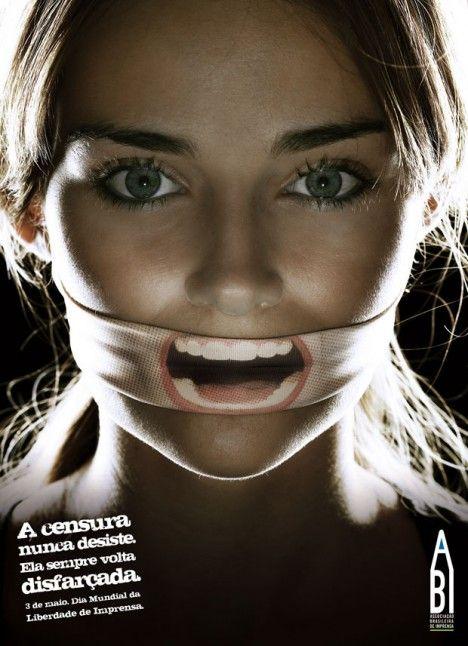 Anti Censura - A Censura Nunca Desiste. Ela Sempre Volta Disfarçada. 3 De Maio Dia Mundial Da Lib