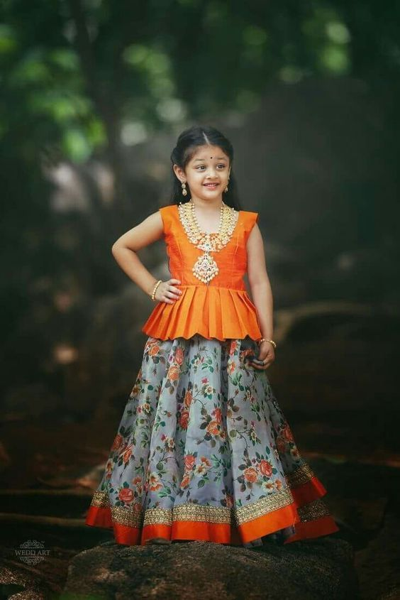 baju anak perempuan umur 10 tahun ala india