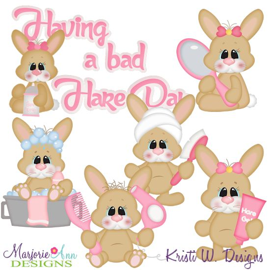 Bad Hair Day SVG-MTC-PNG plus JPG Cut Out Sheet(s) Our sets also include clipart in these formats: PNG & JPG