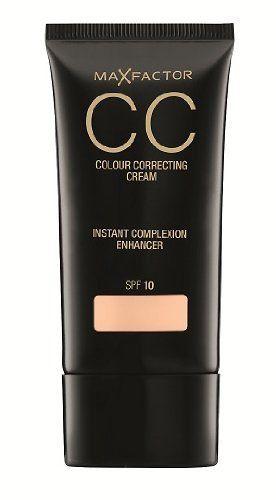 Max Factor CC Colour Correcting Cream - 40 Fair (30ml) - http://buyonlinemakeup.com/max-factor/106-natural-beige-max-factor-long-lasting-no-105-1-1