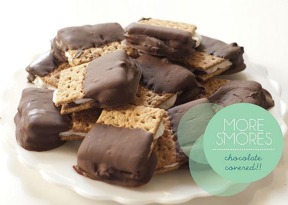 Chocolate Covered Smores by jenloveskev