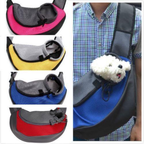 Pet Carrier Cat Puppy Animal Dog Sling Travel Tote Shoulder Bag Backpack Bowl Pets Dog Cat Kitty Puppy Dog Carrier Sling Puppy Carrier Small Pet Carrier