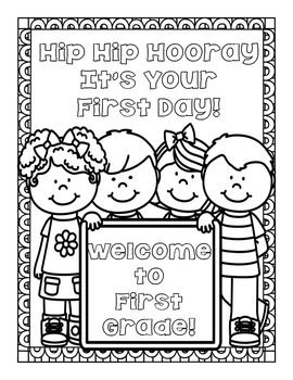 FREEBIE! Back to School Coloring Pages