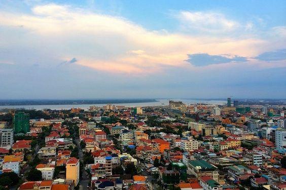 Quang cảnh của thủ đô Phnom Penh thu hút nhiều khách du lịch ghé thăm