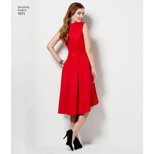 Simplicity Pattern 1011 Misses and Plus Size Amazing Fit Dress
