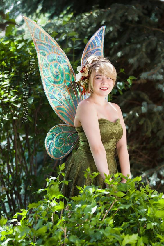 Tinkerbell Cosplay Wings Fairy Renaissance Festival by Pyreflyyy