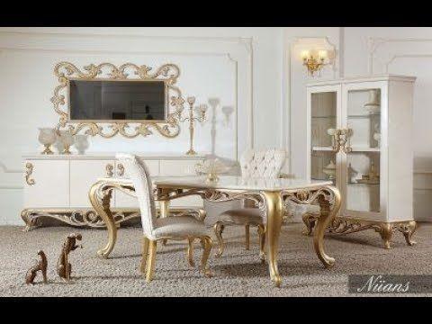 غرف سفرة فرنسية غرف سفرة كلاسيك غرف سفرة فاخرة New اشيك ديكورات غرف ا French Country Dining Room Living Room Sofa Design Dining Room Table Decor