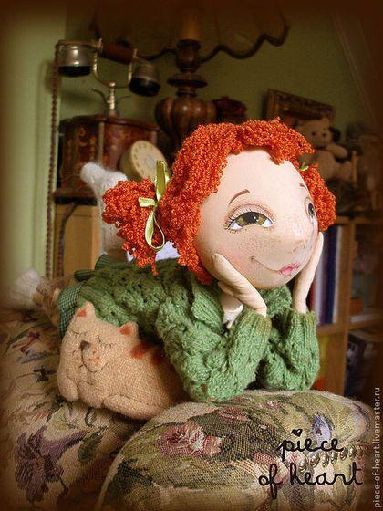 Купить или заказать мечты расцветают в моём сердце... в интернет-магазине на Ярмарке Мастеров. мечты бывают разные , большие и маленькие,зимние и летние ... с этой куклой можно вместе мечтать (в тёплое время года можно снять носочки и кофточку...