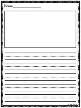 Primary Writing Paper With Picture Boxes And Without Multiple