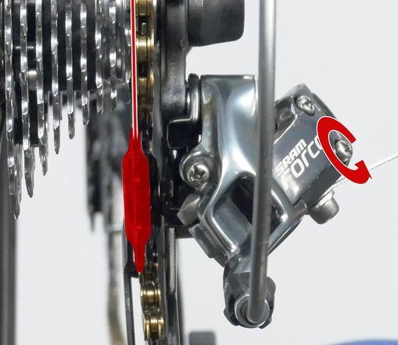 Rear Derailleur Adjustment Bike Repair Bicycle Diy Bicycle Maintenance