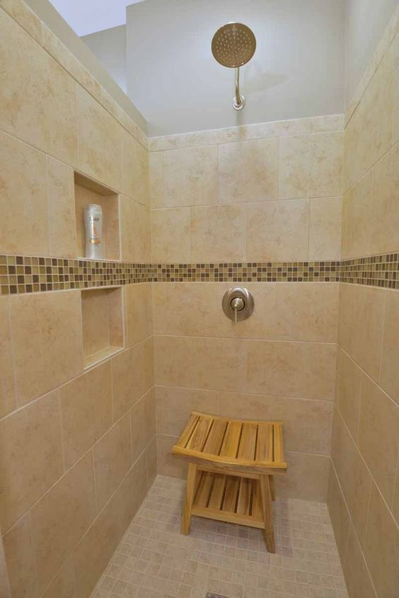 The Mini Infinity Walk In Shower No Door To Clean Rain Style Shower Head