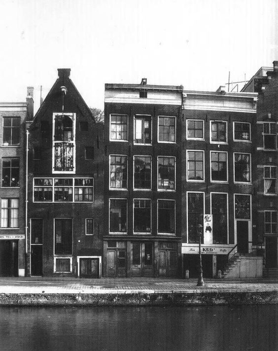 Ann Frank house, Amsterdam  Need to go back and read her diary again. We got to go behind the bookcase to the hidden stairs up into the secret rooms. Her writing stopped 3 days before they were captured.