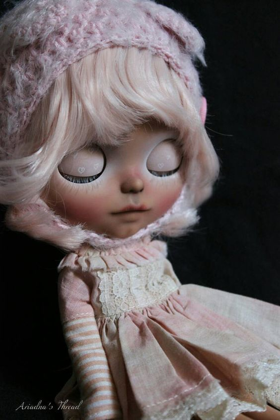 Idamis. OOAK Custom Blythe doll. by AriadnaSThread on Etsy