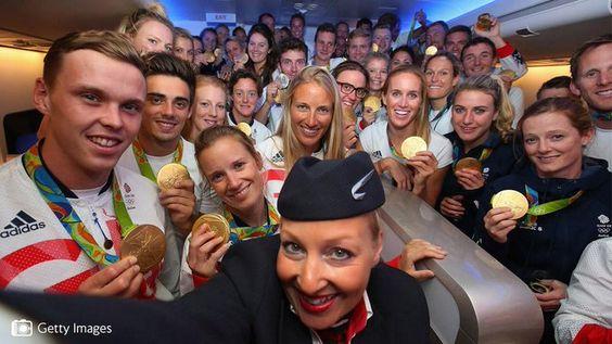 BA flight Rio 2016