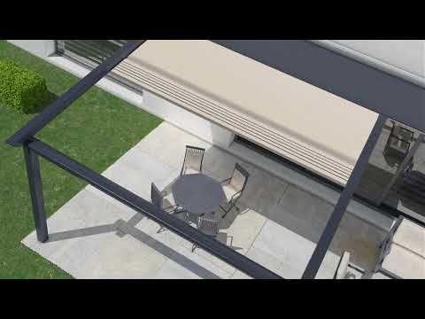 Pergola Roof Motorized Retractable Awning Gazebo Canopy Youtube In 2020 Pergola With Roof Gazebo Canopy Pergola