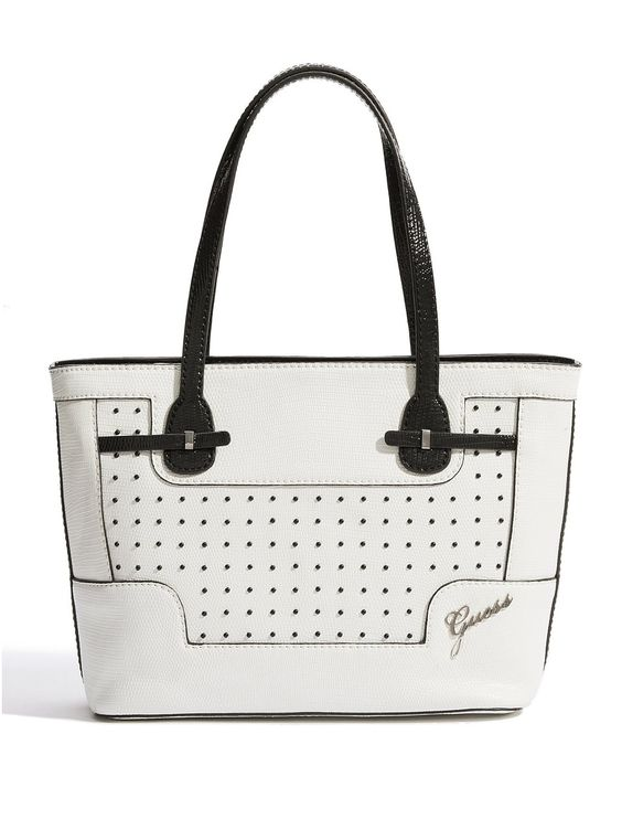GUESS Rumi Small Carryall, WHITE MULTI