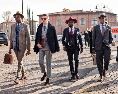 style dress gents universitair
