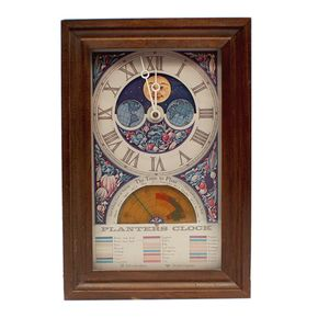 Shop Vintage Electric Moon Dial Planters Wall Clock And