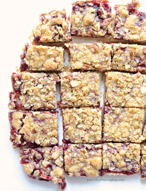Today's recipe is one of my favorites! I love a good bar dessert because they come together quick and feed a crowd. America's Test Kitchen's Raspberry Streusel Bars are one of my all times favorite...