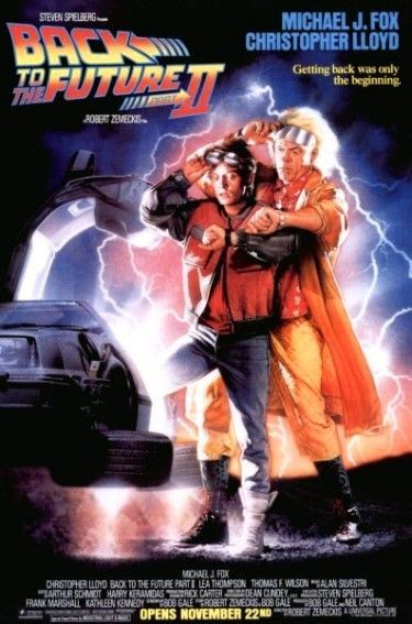 BACK TO THE FUTURE Part 2 - original 1-sheet poster that measures approx. 27x40. Available in my Ebay store. Click the link below.